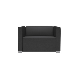 Square 1,5 Seater with 2 arms | Poltrone da giardino | Design2Chill