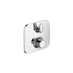 AXOR Bouroullec thermostatic mixer for concealed installation with shut-off valve | Shower taps / mixers | AXOR