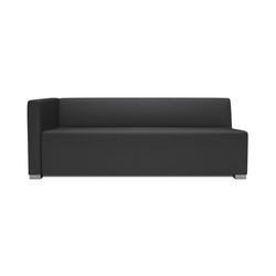 Square 3 Seater 1 arm | Éléments de sièges modulables | Design2Chill