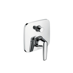 AXOR Bouroullec single lever bath mixer for concealed installation with integrated security combination | Bath taps | AXOR
