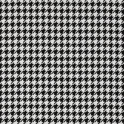 j055 Pied de Poule Black | Fabrics | Design2Chill