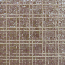 Vetro Neutra Tortora Lux | Glass mosaics | FLORIM