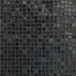 Vetro Neutra Carbone Lux | Glas-Mosaike | Casamood by Florim