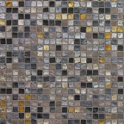 Vetro Neutra Melange Scuro | Glass mosaics | Casamood by Florim