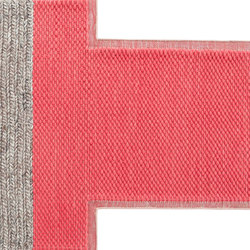 Mangas Space Rug Plait Coral 2 | Tapis / Tapis design | GAN