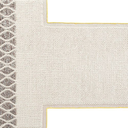 Mangas Space Rug Rhombus Ivory 4 | Tappeti / Tappeti d'autore | GAN