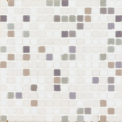 Vetro Chroma Melange Light Grigio | Glass mosaics | Casamood by Florim