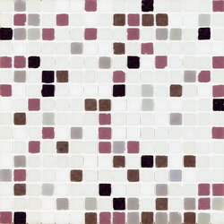 Vetro Chroma Melange Light Rosa | Glass mosaics | Casamood by Florim