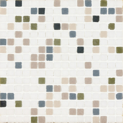 Vetro Chroma Melange Light Verde | Mosaici in vetro | Casamood by Florim