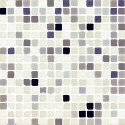 Vetro Chroma Melange Light Lila | Mosaici in vetro | Casamood by Florim