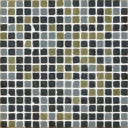 Vetro Chroma Melange Dark Verde | Glass mosaics | Casamood by Florim