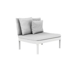 Tropez Armchair Modular | Gartensessel | GANDIABLASCO