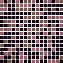 Vetro Chroma Melange Dark Rosa | Mosaïques en verre | Casamood by Florim