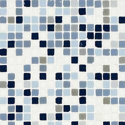 Vetro Chroma Nuance Azzurro | Glas-Mosaike | Casamood by Florim