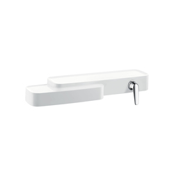 AXOR Bouroullec single lever basin mixer for exposed installation, DN15 | Wash-basin taps | AXOR