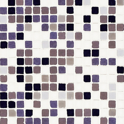 Vetro Chroma Nuance Lila | Mosaïques en verre | Casamood by Florim