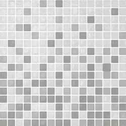 Vetro Chroma Transit Ghiaccio | Glass mosaics | Casamood by Florim
