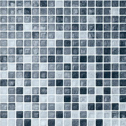 Vetro Chroma Transit Acqua | Glass mosaics | Casamood by Florim