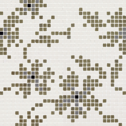Vetro Decori Brocades 01A | Glass mosaics | Casamood by Florim