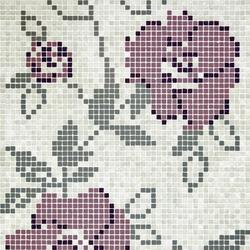 Vetro Decori Brocades 05B | Mosaïques en verre | Casamood by Florim