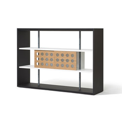 Frame shelving system | Office shelving systems | Lampert