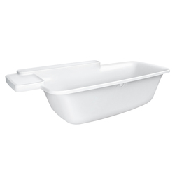 AXOR Bouroullec built-in tub | Built-in bathtubs | AXOR