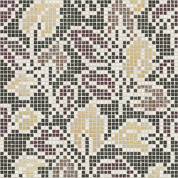 Vetro Decori Brocades 03B | Glass mosaics | Casamood by Florim