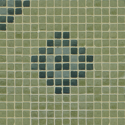 Vetro Pattern 01B Angolo | Mosaici in vetro | Casamood by Florim