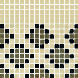 Vetro Pattern 03A Finale Light | Glass mosaics | Casamood by Florim