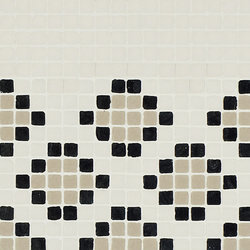 Vetro Pattern 03B Finale Light | Mosaïques en verre | Casamood by Florim