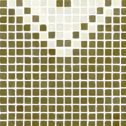 Vetro Pattern 05A Finale Dark | Mosaici in vetro | Casamood by Florim