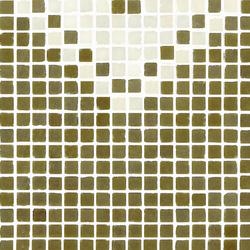 Vetro Pattern 05A Finale Dark | Mosaïques en verre | Casamood by Florim