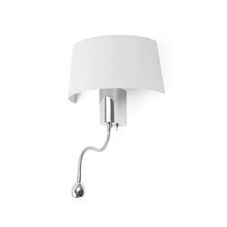Hotel wall lamp with reader | General lighting | Faro