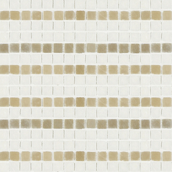 Vetro Decori Brocades 04B | Mosaïques en verre | Casamood by Florim