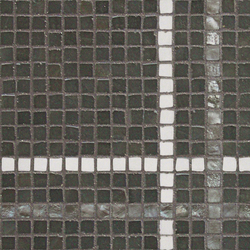 Vetro Stripes 01B | Glass mosaics | Casamood by Florim