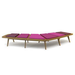 Airbench Large Boomerang | Waiting area benches | Quinze & Milan