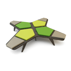 Airbench Small Cross | Seating islands | Quinze & Milan