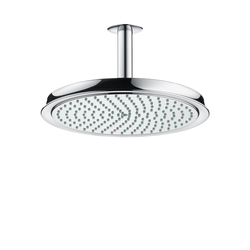 AXOR Carlton Raindance Classic Air plate overhead shower Ø 240mm DN15 with ceiling connector 100mm | Shower controls | AXOR