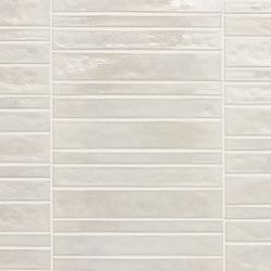 Vetro Neutra Bianco Listello Dritto | Glass mosaics | Casamood by Florim