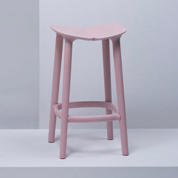 Osso Counter Stool | MC3 | Taburetes de bar | Mattiazzi