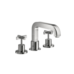 AXOR Citterio 3-Hole Rim-Mounted Bath Mixer with cross handles DN15 | Bath taps | AXOR