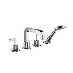 AXOR Citterio 4-Hole Rim-Mounted Bath Mixer with lever handles DN15 | Bath taps | AXOR
