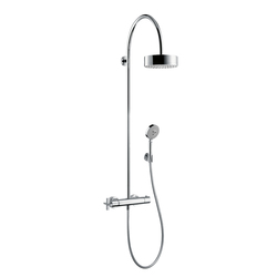 AXOR Citterio Showerpipe with thermostat DN15 | Shower controls | AXOR