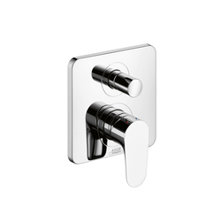 AXOR Citterio M Single Lever Bath Mixer for concealed installation with integrated safety combination according to EN 1717 | Bath taps | AXOR