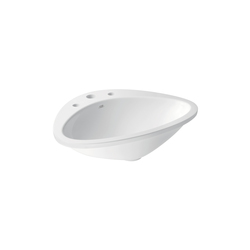 AXOR Massaud Built-in Wash Basin 3-Boreholings | Wash basins | AXOR