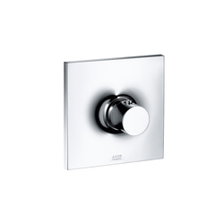 AXOR Massaud Set de finition pour mitigeur thermostatique encastré | Robinetterie de douche | AXOR
