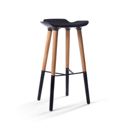 Pilot Bar Stool Legs black | Bar stools | Quinze & Milan