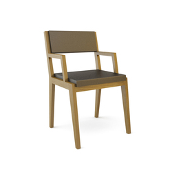 Room 26 Chair 04 armrests | Visitors chairs / Side chairs | Quinze & Milan