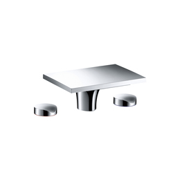 AXOR Massaud 3-Hole Basin Mixer without pull-rod, DN15 | Wash basin taps | AXOR
