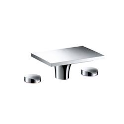 AXOR Massaud Mélangeur de lavabo 3 trous ni tirette ni vidage | Robinetterie pour lavabo | AXOR